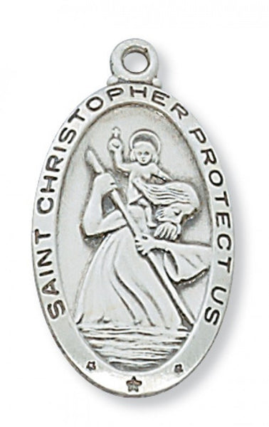 SS St Christopher 24 CH - St. Benedict's Catholic Store