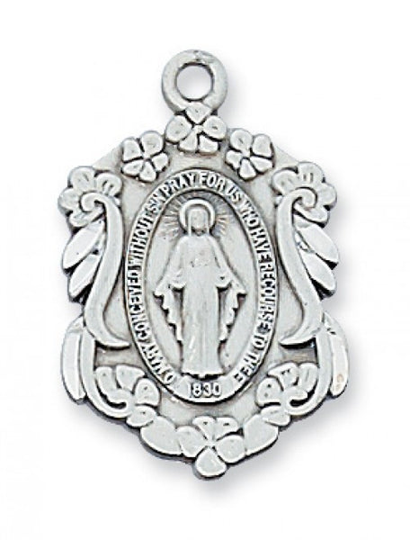 "Miraculous Medal SS 7/8"" - St. Benedict's Catholic Store"