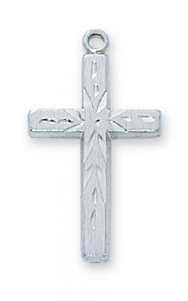 "SS Eng Cross 18"" - St. Benedict's Catholic Store"