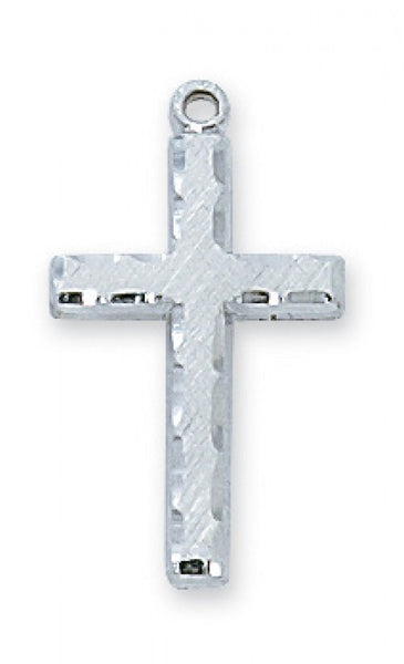 Sterling Silver Cross - St. Benedict's Catholic Store