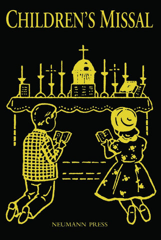 Latin Missal Children's Missal Black - St. Benedict's Catholic Store