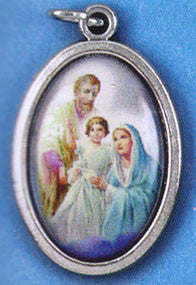 Holy Family Picture Medal - St. Benedict's Catholic Store