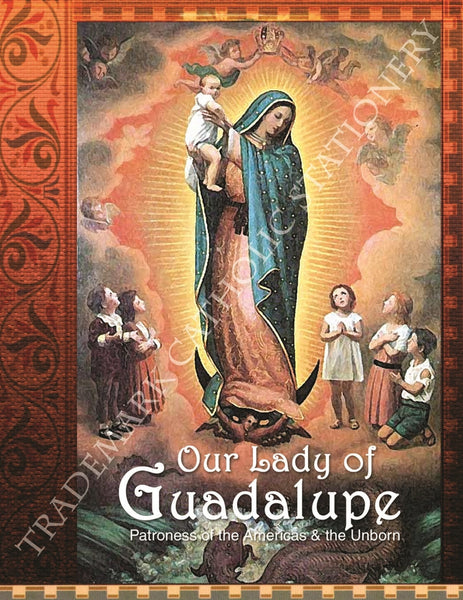 Our Lady of Guadalupe Note Card - St. Benedict's Catholic Store