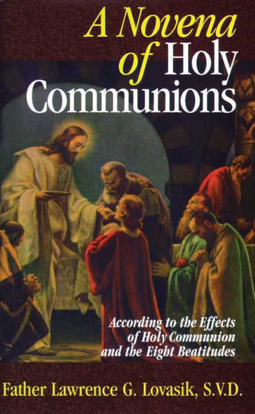 Novena of Holy Communions - St. Benedict's Catholic Store
