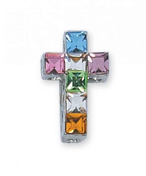 Multicolor Cross Necklace - St. Benedict's Catholic Store