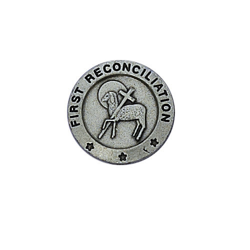 First Reconciliation Pin - St. Benedict's Catholic Store