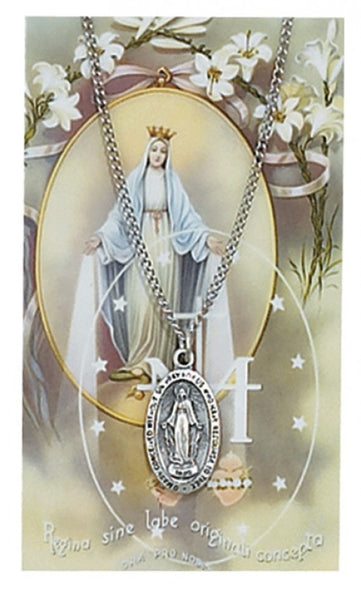 Miraculous Card Medal