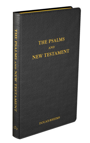 Psalms and New Testament - St. Benedict's Catholic Store