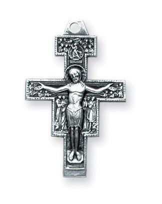 "SS Medium San Damiano Cross 18"" - St. Benedict's Catholic Store"