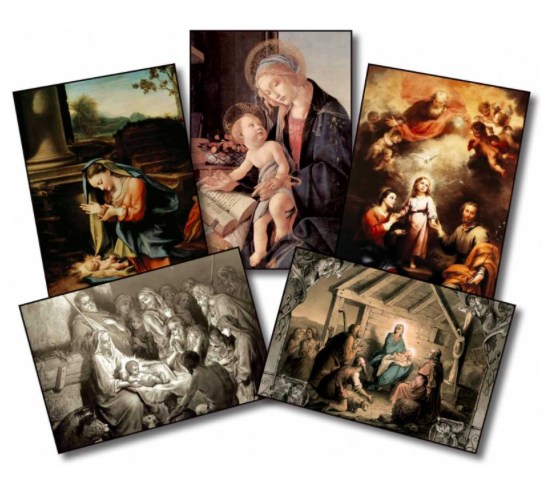 The Birth of Our Lord Christmas Cards - St. Benedict's Catholic Store