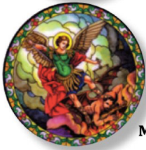 St Michael Static Sticker