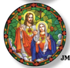 Immaculate & Sacred Heart Static Sticker
