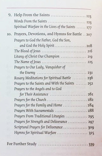 Manual for Spiritual Warfare by Paul Thigpen, Ph.D. - St. Benedict's Catholic Store