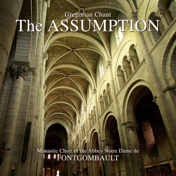 The Assumption Music CD: Gregorian Chant - St. Benedict's Catholic Store