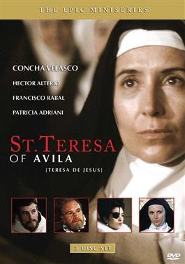 St Teresa of Avila Miniseries 3 Disc DVD - St. Benedict's Catholic Store