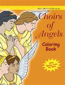 Choirs of Angels Coloring Book - St. Benedict's Catholic Store