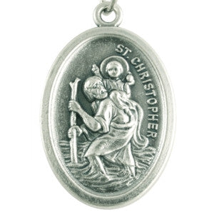 St Christopher Medal - St. Benedict's Catholic Store