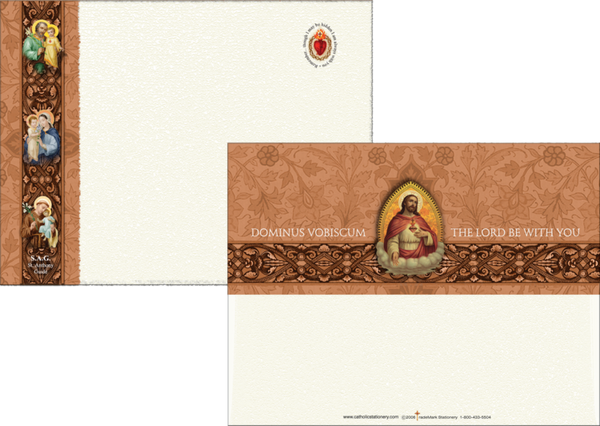 Sacred Heart Note Card - St. Benedict's Catholic Store