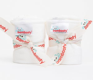 Reusable Bamboo Velour Baby Wipes bundle of 4