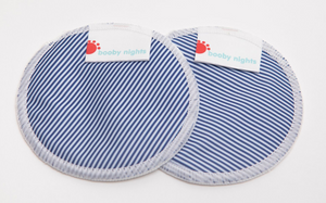 Booby Days or Booby Nights - Nursing Pads (smooth prints)