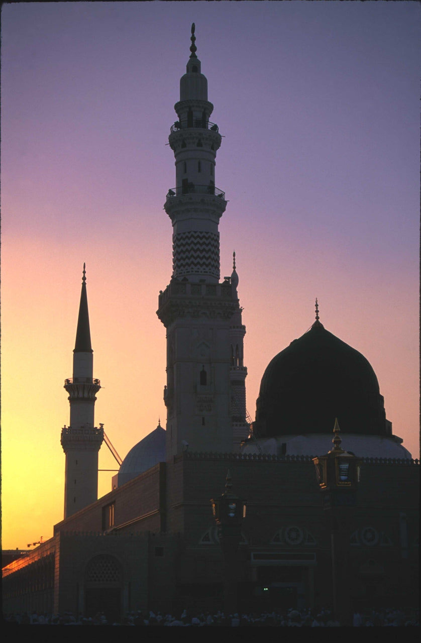 Sunset over Masjid un Nabi Photographic Print on Canvas - Muhsin Kilby