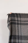 Irish tweed blanket | Vintage Grey