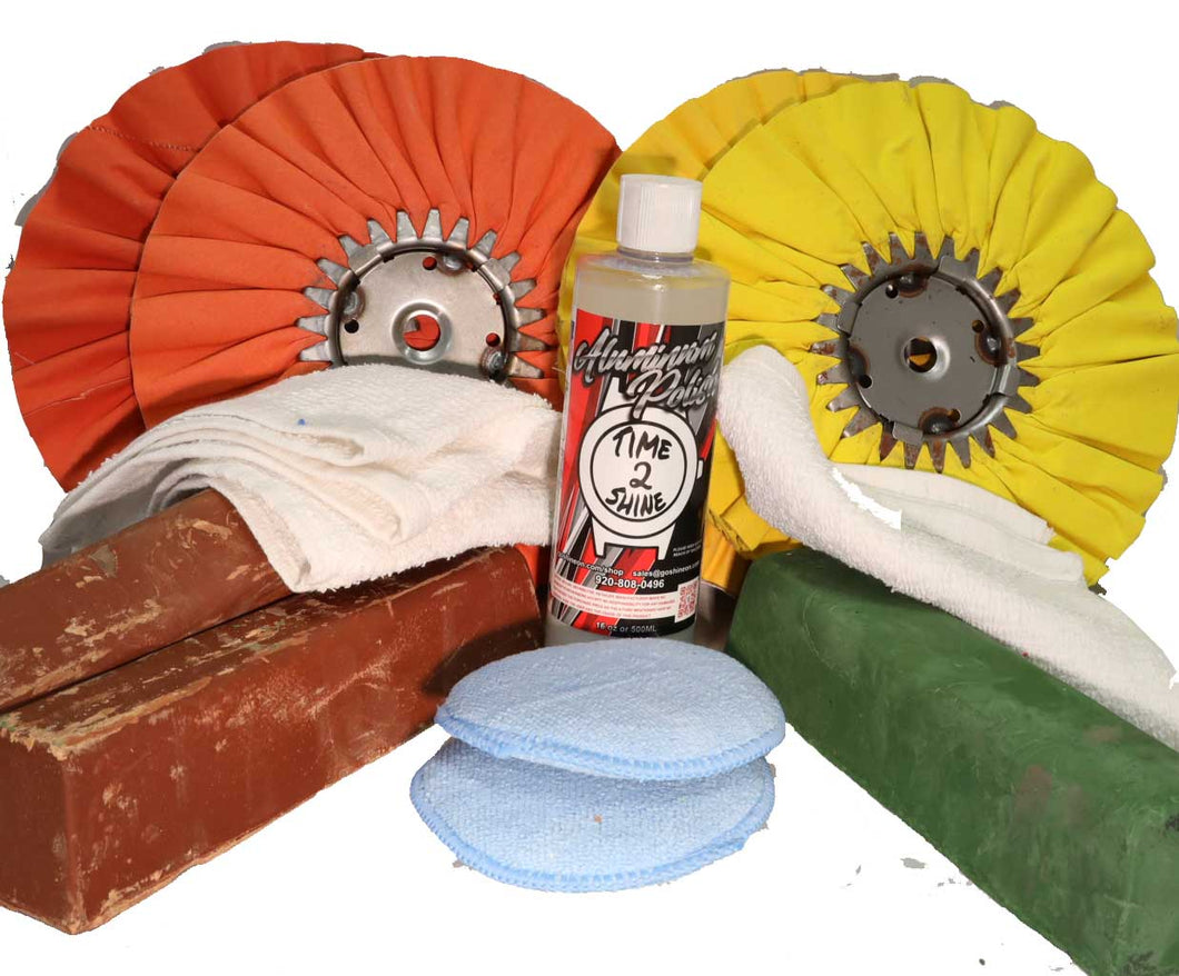 2-Step Aluminum Metal Polishing Kit