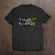 Load image into Gallery viewer, Time 2 Shine Green Logo Shirts and Hoodies