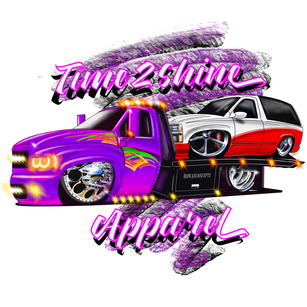 Tow Truck Flat Bed Shirts and Hoodies
