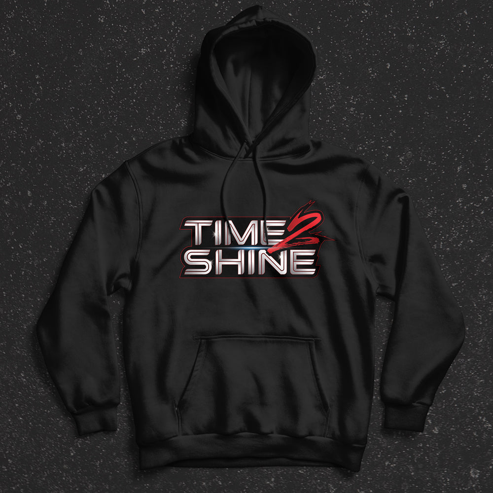 Time 2 Shine Red Logo Shirts and Hoodies