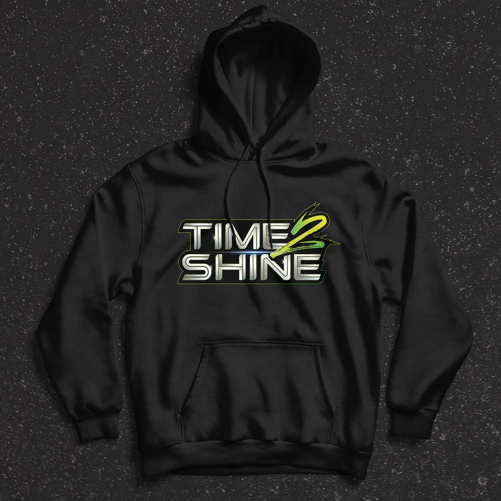 Time 2 Shine Green Logo Shirts and Hoodies