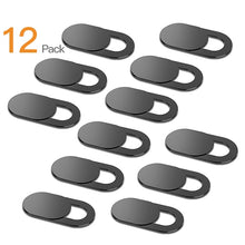 Load image into Gallery viewer, 6pc 18pc WebCam Cover Shutter Magnet Slider Plastic For iPhone Web Laptop PC For iPad Tablet Camera Mobile Phone Privacy Sticker