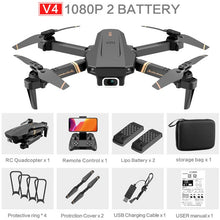 Load image into Gallery viewer, 4DRC V4 WIFI FPV Drone WiFi live video FPV 4K/1080P HD Wide Angle Camera Foldable Altitude Hold Durable RC Quadcopter