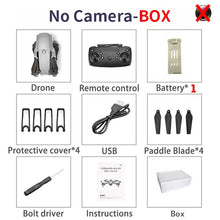 Load image into Gallery viewer, XKJ 2020 E68Pro Mini Drone 4K 1080P Wide Angle Camera Dron Wifi FPV Height Hold Mode