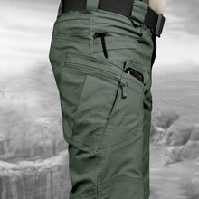 Load image into Gallery viewer, Men Casual Cargo Pants Elastic Outdoor Hiking Trekking Army Tactical Sweatpants Camouflage Military Multi Pocket Trousers S-6XL