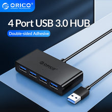 Load image into Gallery viewer, High Speed USB HUB 4 Port USB 3.0 Splitter With Micro USB Power Port