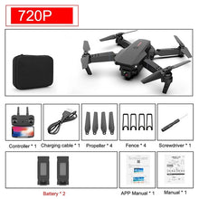 Load image into Gallery viewer, 2020 NEW Drone 4K 1080P HD Camera WiFi Fpv Air Pressure Altitude keep Black And Gray Folding Quadcopter Professional RC Dron Toy