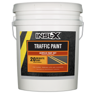 Acrylic Fast Set Traffic Paint - Yellow TP-33XX