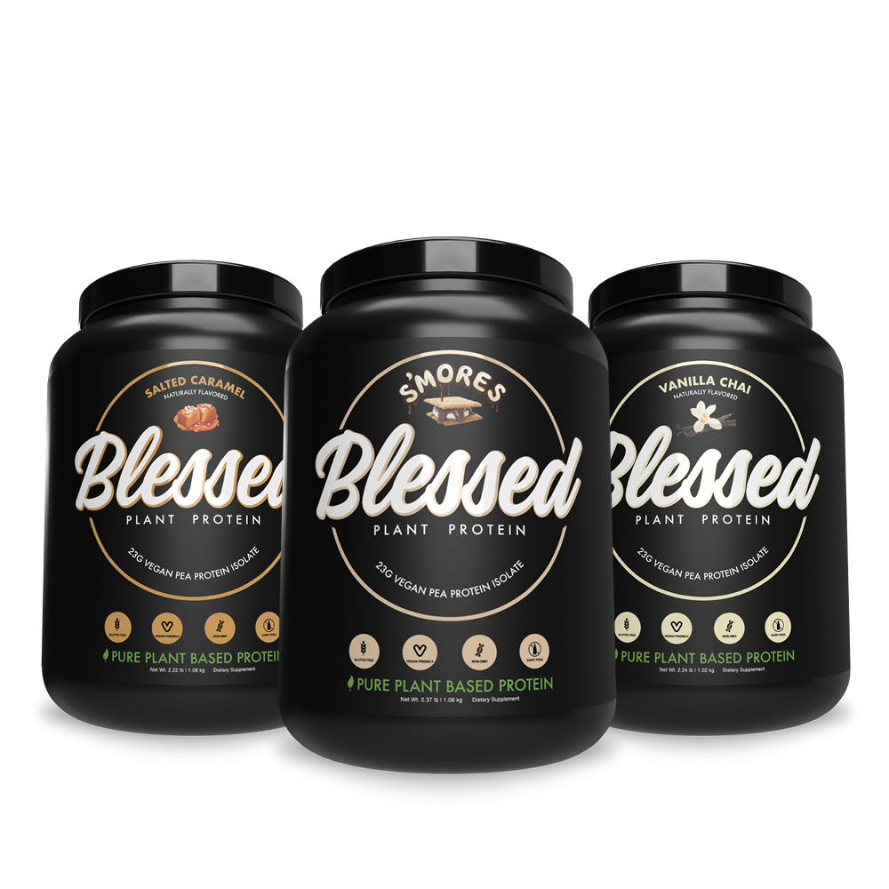 3-Pack Blessed Protein | 3 x 30 SVS Bundle