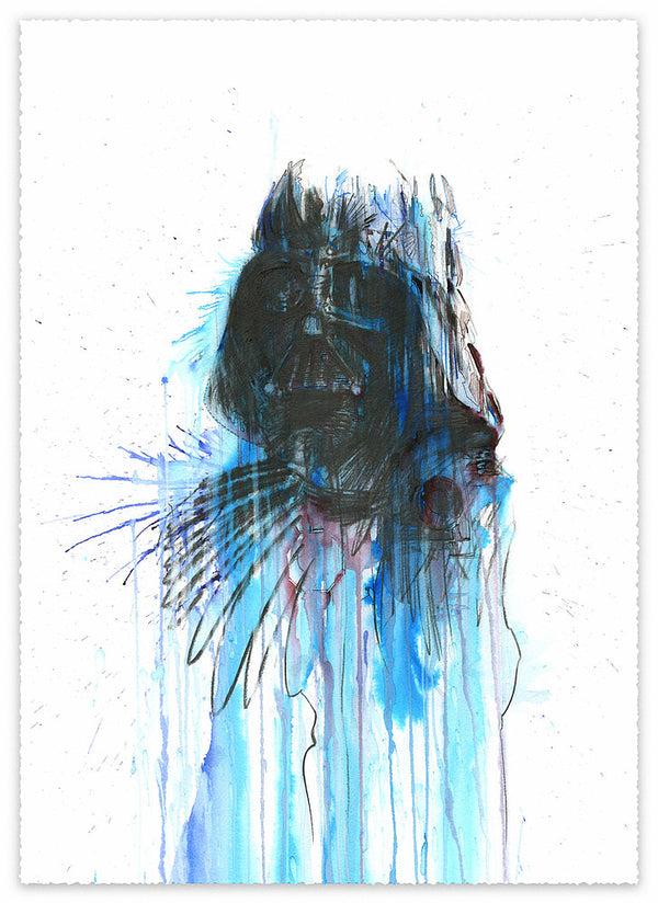Carne Griffiths - Vader - Star Wars Print - JG Contemporary