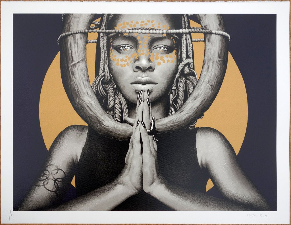 Kevin Ledo - Sun Goddess I - JG Contemporary