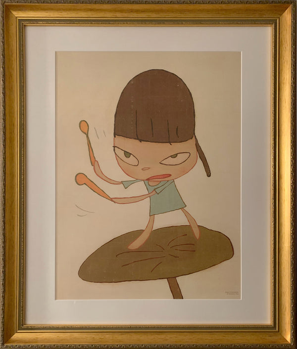 Yoshitomo Nara - Marching on a Butterbur Leaf - JG Contemporary