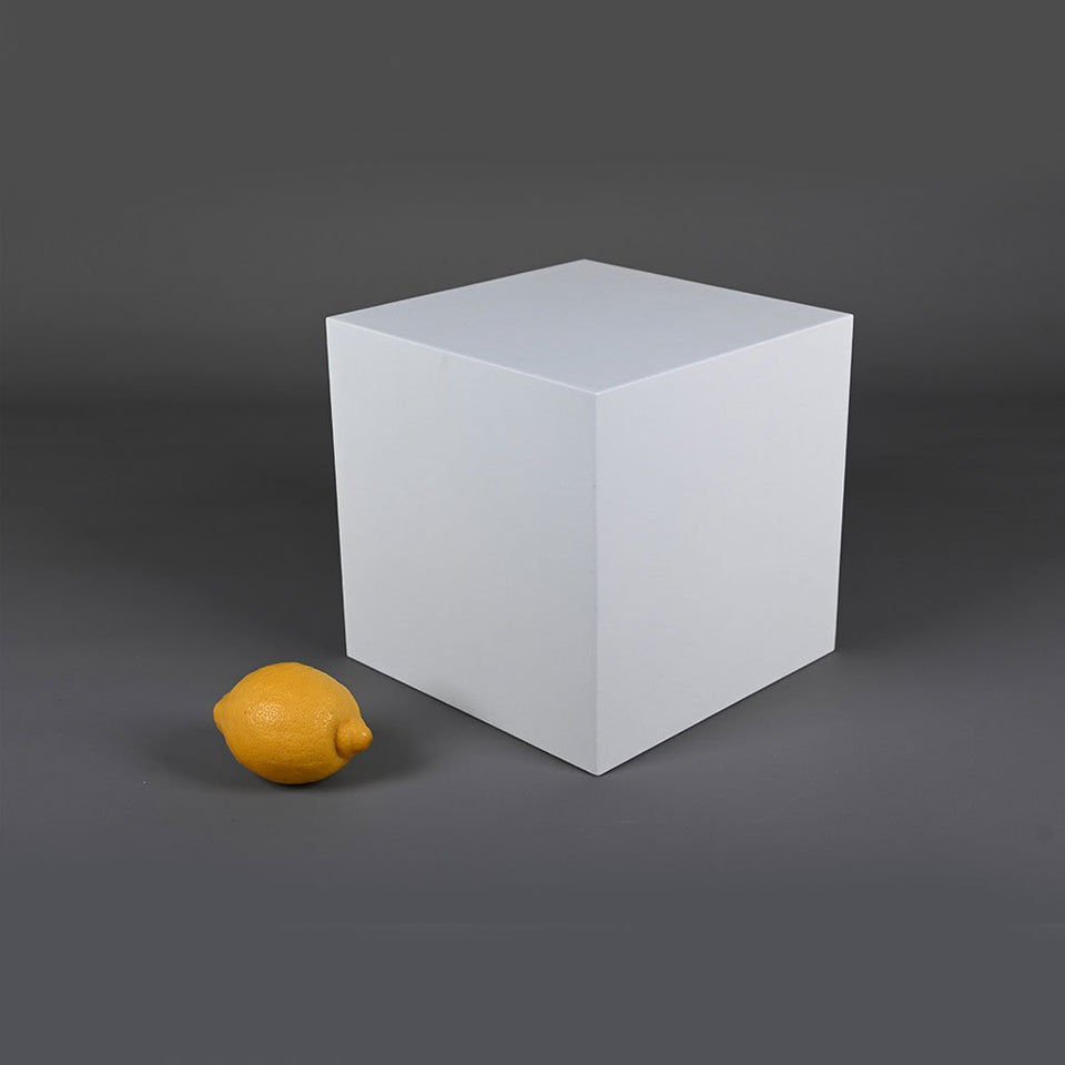 large box styling prop photo prop with lemon