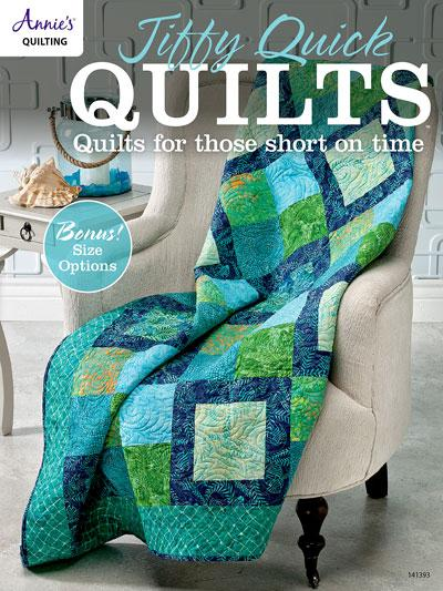 Annie's Quilting Jiffy Quick Quilts DRG141393
