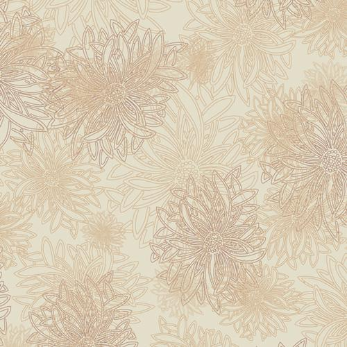 Art Gallery Fabrics Floral Elements FE-504 Sand