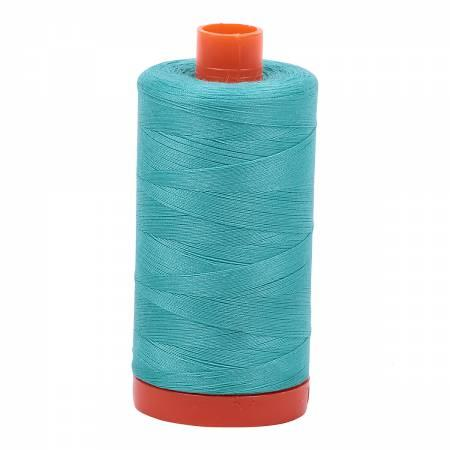 Aurifil Mako Cotton Thread Solid 50wt 1422yds MK50SC6-1148 Light Jade
