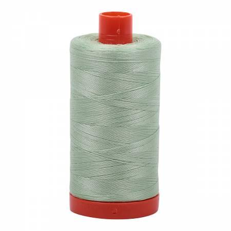 Aurifil Mako Cotton Thread Solid 50wt 1422yds MK50SC6-2880 Pale Green
