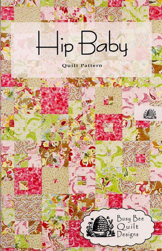 Busy Bee Quilt Designs Hip Baby by Michelle Kunigisky