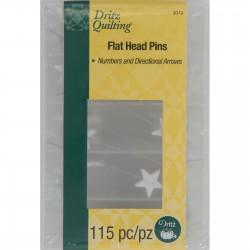 Dritz Numbered Flat Head Pins DRI3019