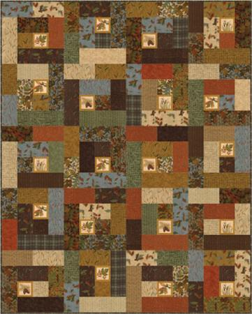 Fall Impressions by Doug Leko of Antler Quilt Design AQD 0255G
